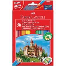 Цветные карандаши Faber-Castell. Замок. 36 цветов