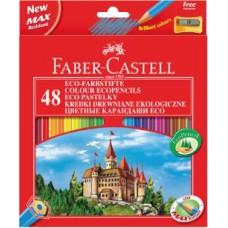 Цветные карандаши Faber-Castell. Замок. 48 цветов