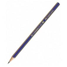 Чернографитный карандаш Faber-Castell. Goldfaber. 3B