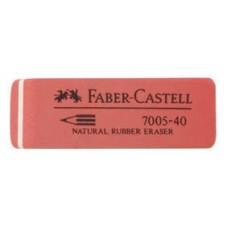 Ластик. Faber-Castell. Latex-Free. Скошенный. Синтетический каучук. 60*18*8мм