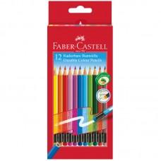 Карандаши цветные стираемые. Faber-Castell. 12 цветов