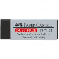 Ластик Faber-Castell. Dust Free. Черный. 63*22*11мм