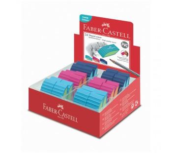 Ластик Faber-Castell. PVC-free. скошенный. 50*22*13 мм