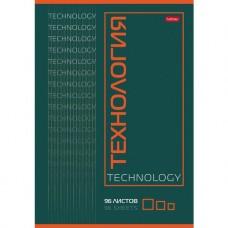 Тетрадь предметная. Hatber. 96 листов. А4. КЛЕТКА. Технология