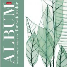 Альбом для рисования акварелью. Hatber. 20 листов. 220х220мм. Цветочное вдохновение