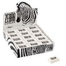 Ластик из натурального каучука Hatber Zebra. 32х18х8 мм
