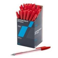 Ручка Hatber шариковая. Красная