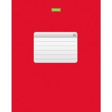 Тетрадь. Hatber. 96 листов. А5. КЛЕТКА. Красная