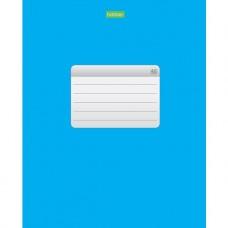 Тетрадь. 48 листов. КЛЕТКА. А5. Hatber. Синяя