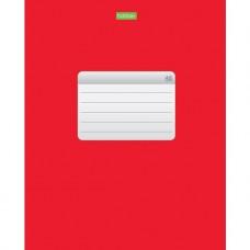 Тетрадь. 48 листов. КЛЕТКА. А5. Hatber. Красная