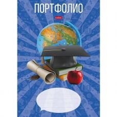 Портфилио для учеников 1-11 классов. Hatber. 16 листов. Школьник. В пакете с европодвесом