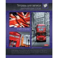 Тетрадь-словарик для записи английских слов. 48 листов. Автобус