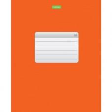Тетрадь. 48 листов. КЛЕТКА. А5. Hatber. Оранжевая