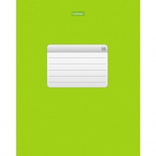 Тетрадь. Hatber. 96 листов. А5. КЛЕТКА. Зеленая