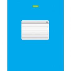 Тетрадь. Hatber. 96 листов. А5. КЛЕТКА. Синяя