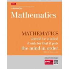Тетрадь предметная. Математика. 48 листов. КЛЕТКА. А5. HATBER. Серия Цитаты