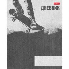 Дневник для 1-11 классов. Hatber. 40 листов. А5. На скобе. тиснение Skate style