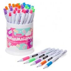 Автоматическая шариковая ручка. Hatber. Marshmallows. Синяя. 0,5мм