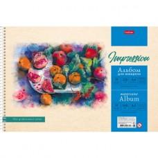 Альбом для рисования акварелью. Hatber. 10 листов. А4. На гребне. Натюрморт