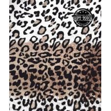 Тетрадь для записей. Клетка. 48 листов. Леопард