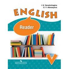 Английский язык. 5 класс.   Книга для чтения. 5-й год