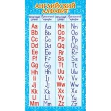 Карточка. Английский алфавит. ШМ-13083