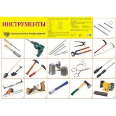 Инструменты. Демонстрационный плакат. Формат А2