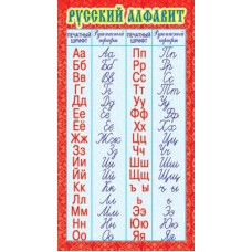Русский алфавит. Мини-плакат. ШМ-3246