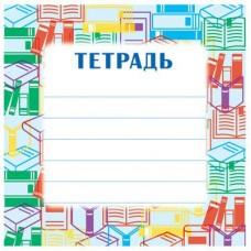 Наклейка на тетрадь. ШН-11959