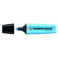 Текстовыделитель.Stabilo. Boss Original. Голубой