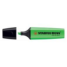 Текстовыделитель.Stabilo. Boss Original. Зеленый