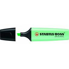 Текстовыделитель.Stabilo. Boss Original Pastel. Мятный