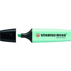 Текстовыделитель.Stabilo. Boss Original Pastel. Бирюзовый